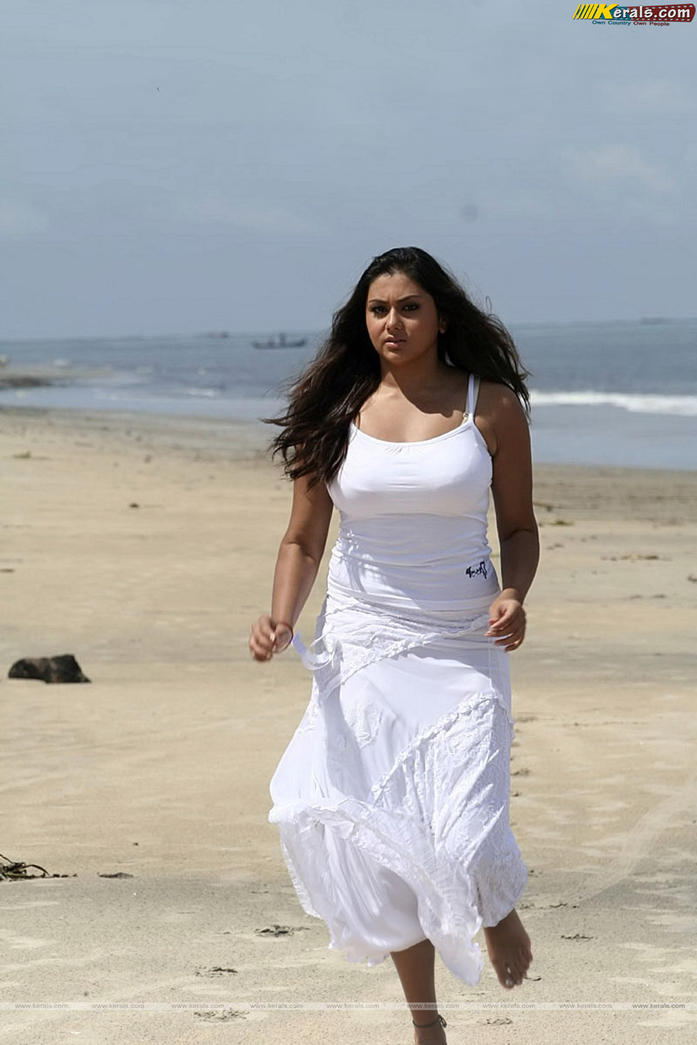 Malayalam Posters: Namitha very very hot and sexy in transparent dress ...