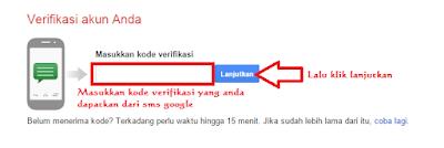 Verifikasi Kode yang Anda Terima di HP