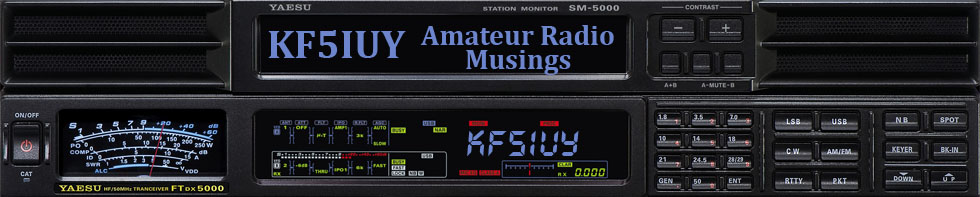 KF5IUY - Amateur Radio Musings