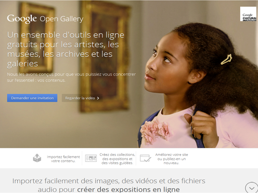 google open gallery
