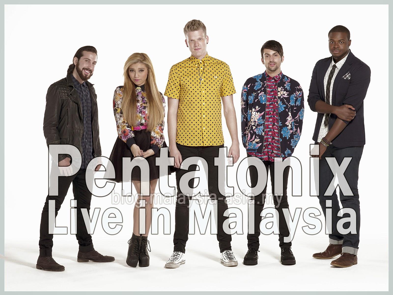 Pentatonix Live in KL Malaysia 2015