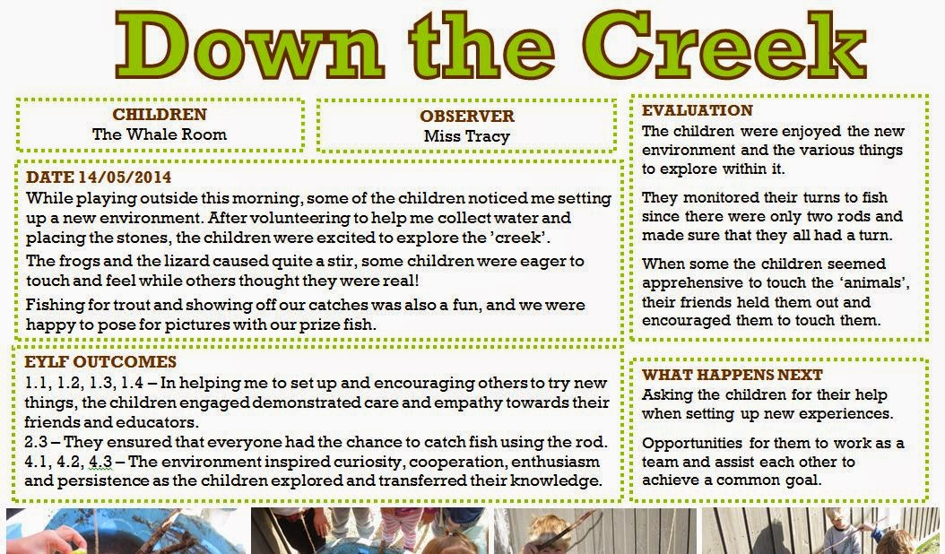 Focus child observation essay