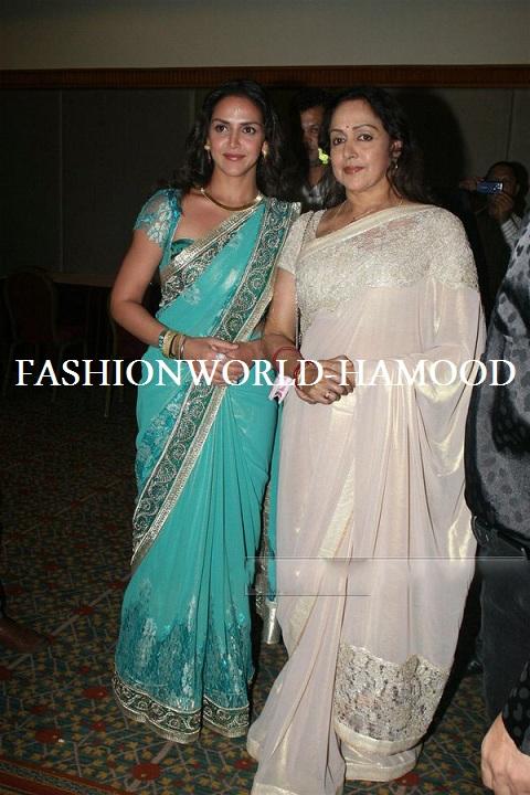 Wedding Cakes Dress Flowers Inspiration: Hema Malini and Esha Deol ...