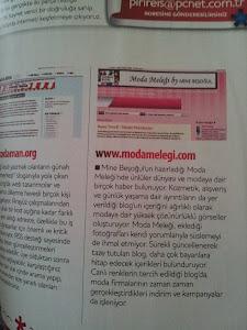 Moda Meleği PCnet Dergisinde;
