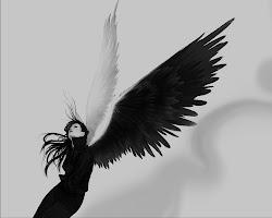 telah ku pilih hitam dan putih sebagai sayap untuk aku terbang kesana...
