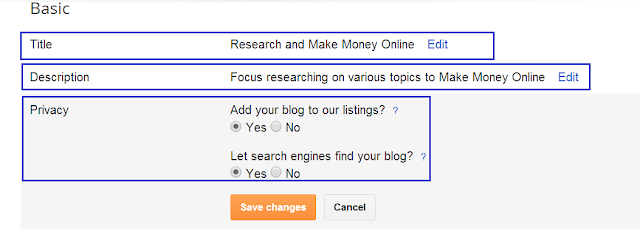 Basic Settings for a SEO-Friendly blog