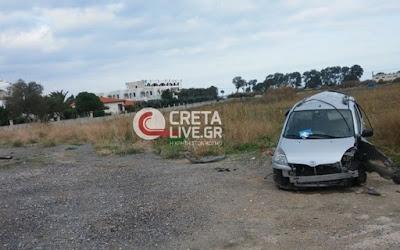 Ανήλικος Κρητικός έβαλε 4 κορίτσια σε αμάξι και κατέληξε… σε χωράφι