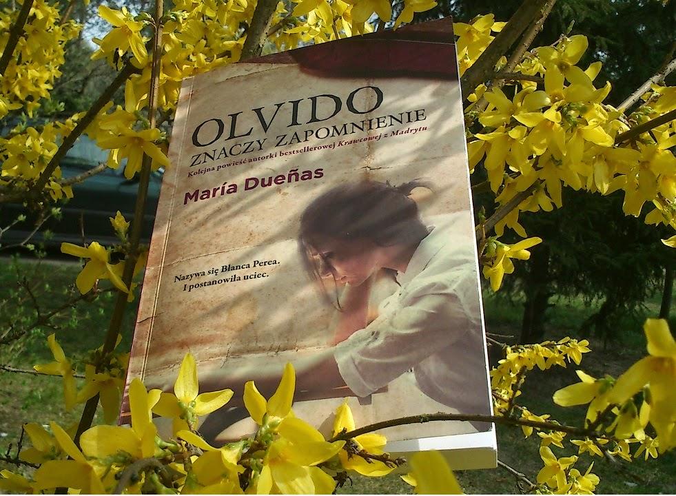 """PRZEDPREMIEROWO """"Olivido znaczy zapomnienie"""" Maria Duenas"""