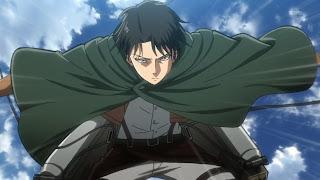 Kapten Levi Shingeki no kyojin