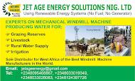 Jet Age Energy Solutions Nig. LTD