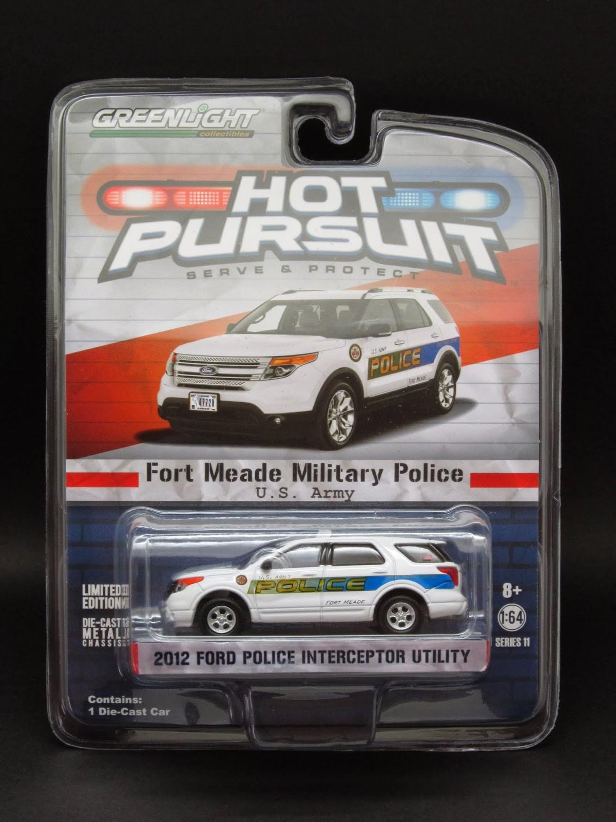 Diecast Hobbist 2012 Ford Explorer Police Interceptor