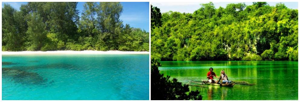 Pulau Moor Wisata Halmahera Tengah Info Tempat Wisata