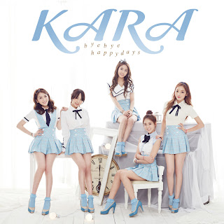 KARA Bye Bye Happy Days cover pics 2