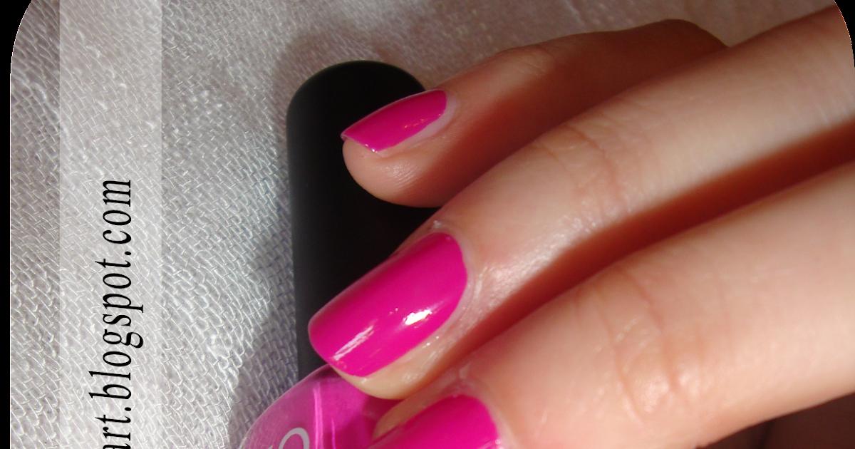 KiKO 290 + Nail art Purple Petals