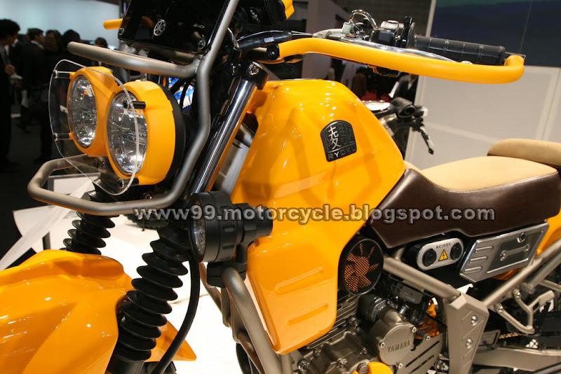 Yamaha EC-Miu Electric Trike Scooter Concept Tokyo title=