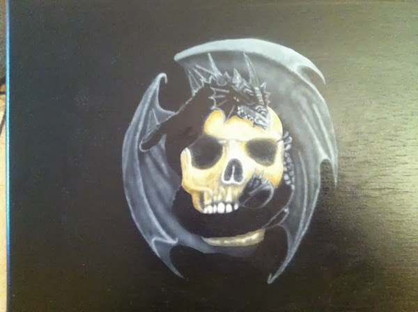 photo1 tuto skull et dragon par bysoairdisign