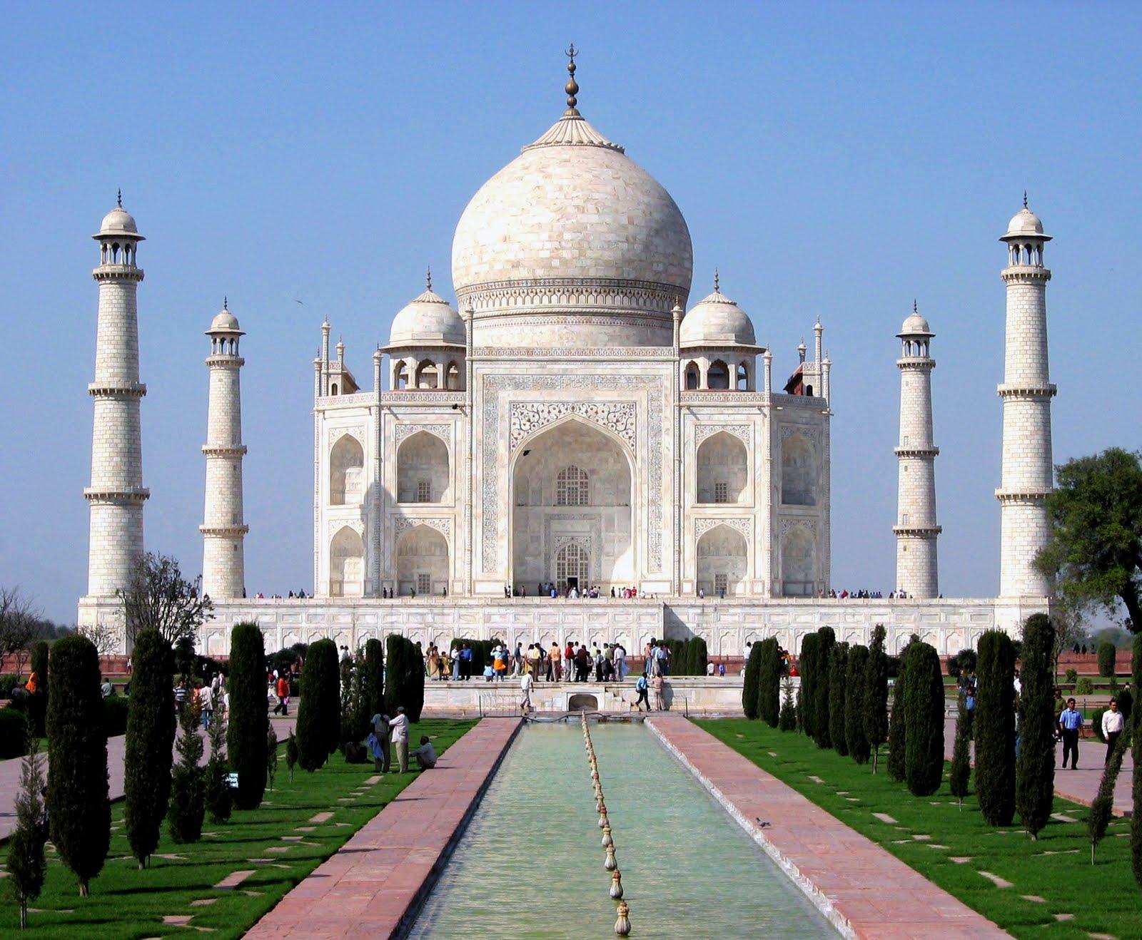 LUGARES EMBLEMÁTICOS DEL MUNDO Taj+Mahal+%25284%2529