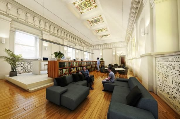 曼徹斯特市政廳內部圖