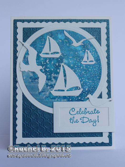 Handmade card, Nautical, Impression Obsession