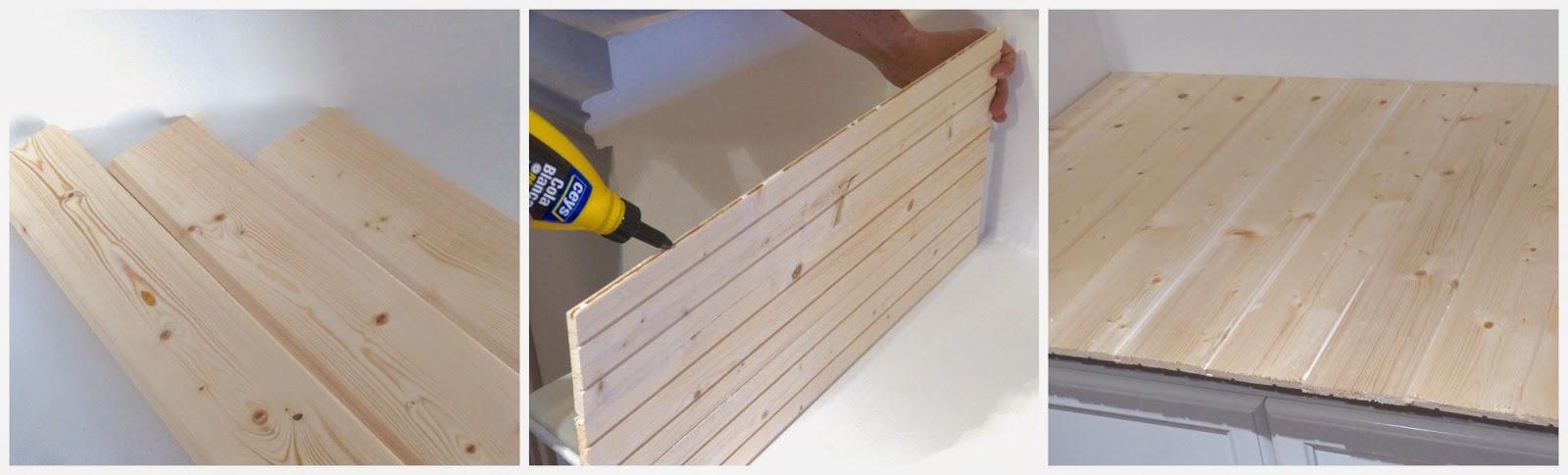 pegar tablas de madera