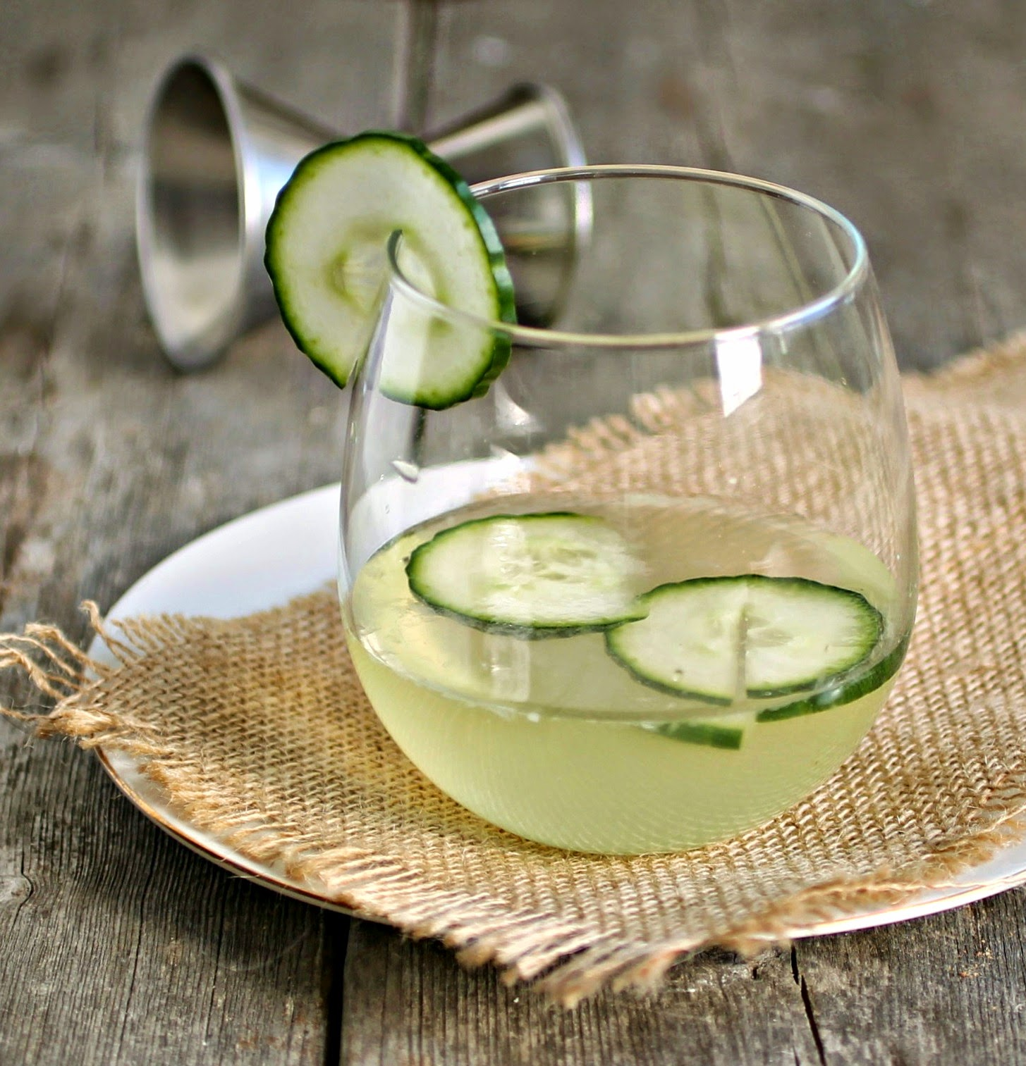 Gin and Cucumber Smash