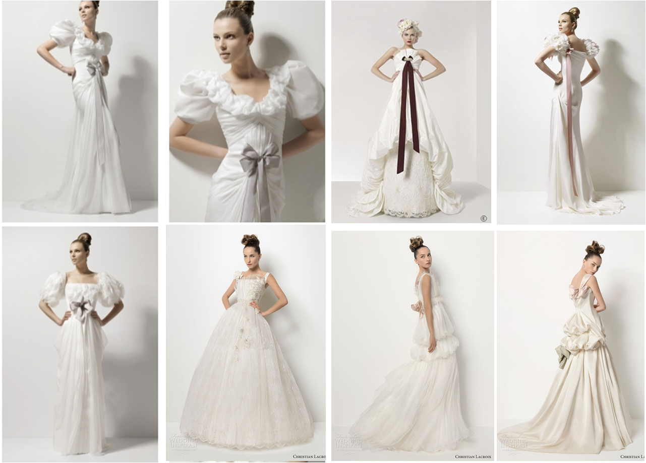 Celtas vestidos de novia de estilo