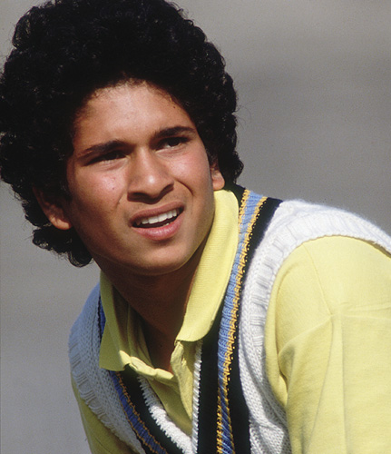Younger Age Sachin 7