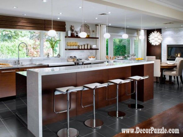 Top 15 mid century modern kitchen design ideas for Contemporary kitchen art decor