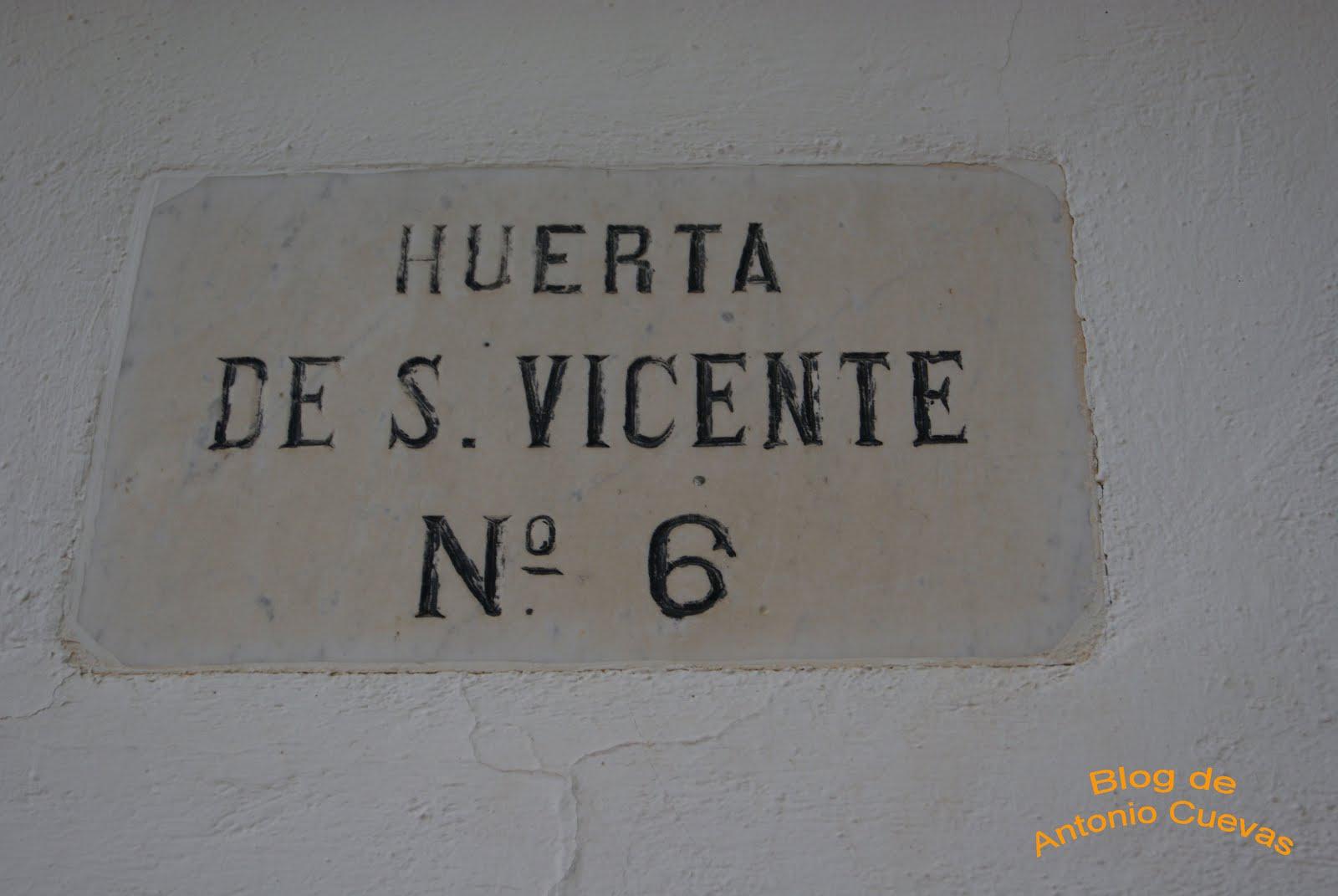 Casa de verano de Lorca