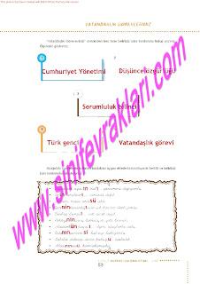 6.Sinif  Turkce Doku Yayinlari Ogrenci Calisma Kitabi Sayfa 53