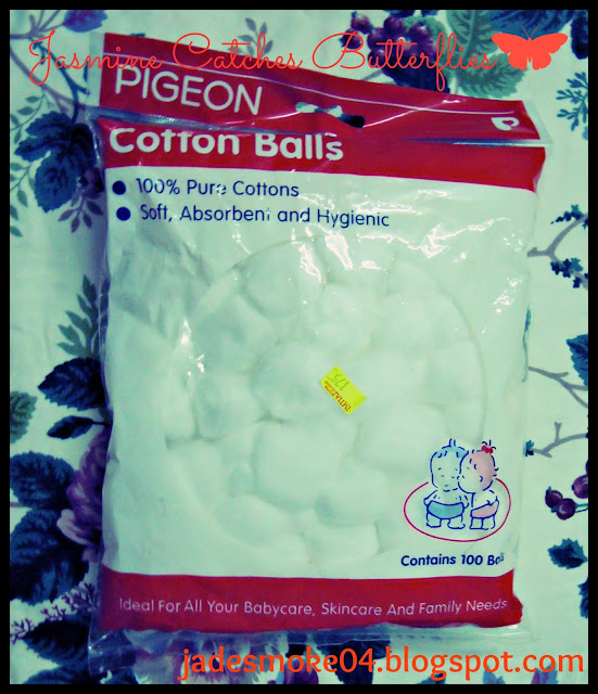 Pigeon Cotton Balls
