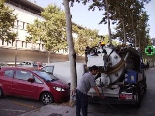 Vaciado de fosas sépticas en Barcelona