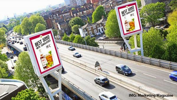Pimm's Digital Out of Home Advertising OOH DOOH London Birmingham