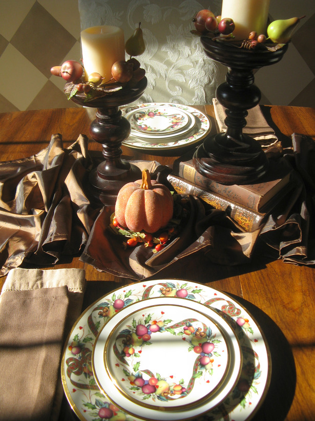 Thanksgiving Table Settings Decoration 2013 Ideas From