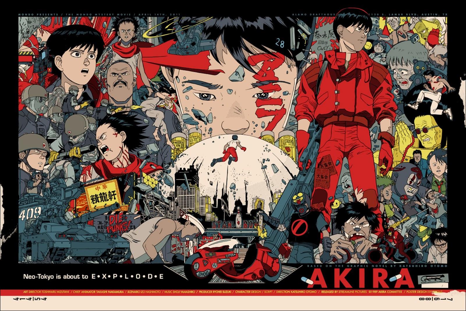 Akira Filme e Manga