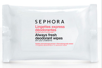 SEPHORA Express Deodorant Wipes