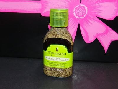 Glossybox Canada Feb 2013 Macadamia Healing Nut Oil