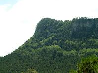 El Cap dels Banyadors des de l'Enzinet