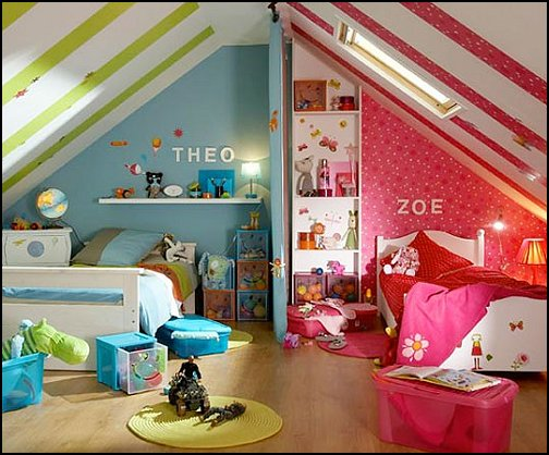 Decorating Ideas For BOYS And GIRLS Sharing ... Part 32