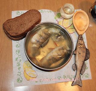 Ложка для рыбацкой ухи