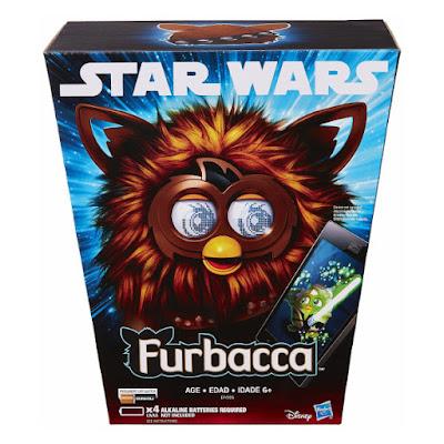 TOYS : JUGUETES - STAR WARS 7 - Furbacca : Furby Episodio 7 El Despertar de la Fuerza Episode 7 The Force Awakens Producto Oficial Película Disney 2015   Hasbro B4556   A partir de 6 años Comprar en Amazon España & buy Amazon USA