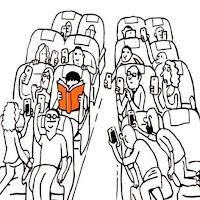 Adama bakın kitap okuyor!