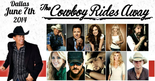 Cowboys Stadium, The Cowboy Rides Away