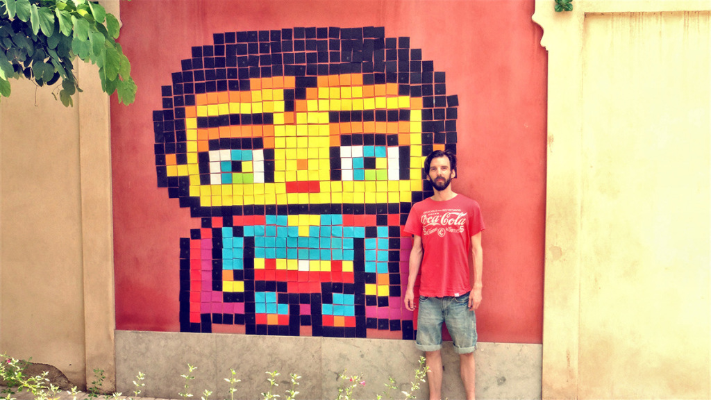 Exceptionnel Cute Superman - Post-it Pixel Art by Garbi KW | Hello Pixel Art DT02