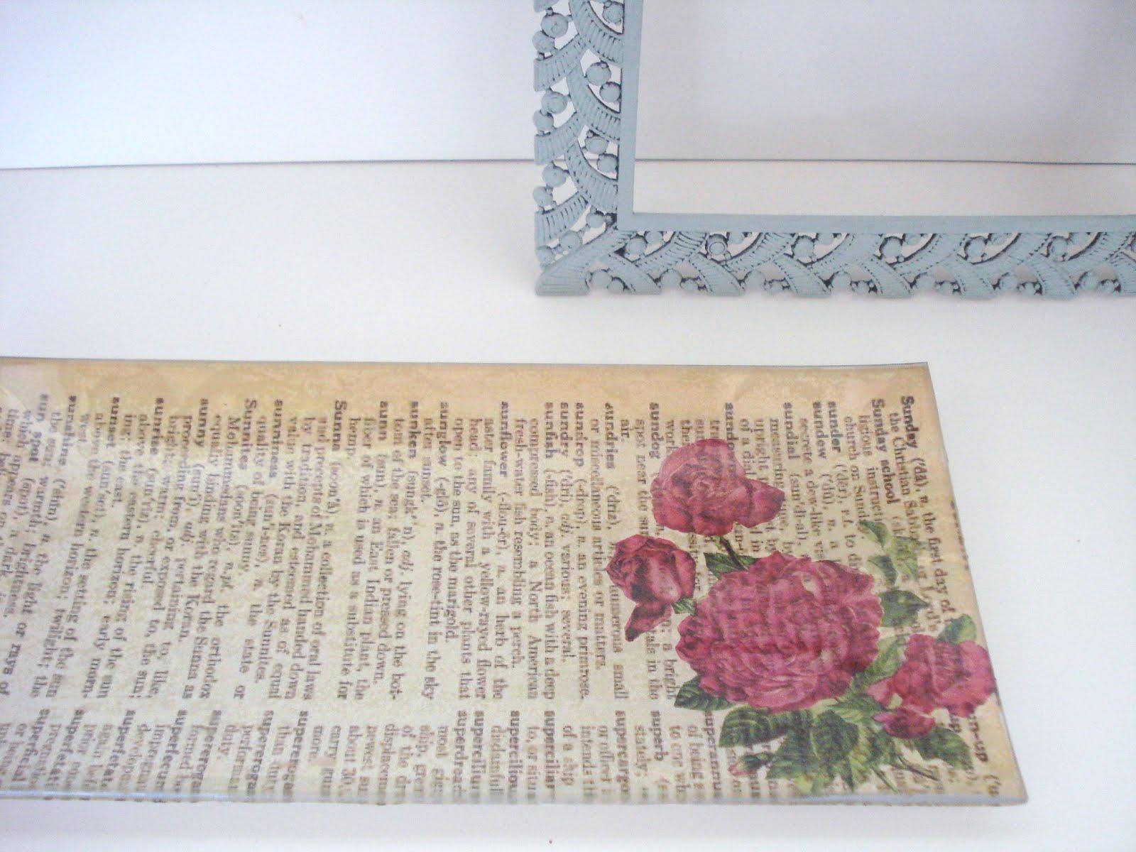 Diy decoupage sobre cristal - Handbox Craft Lovers | Comunidad DIY ...