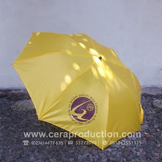 Contoh Souvenir Payung Promosi PT PP
