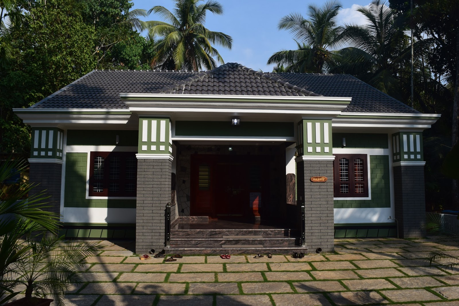 3bhk German Style 20 Lakh 1400 Sqft Home At Malappuram