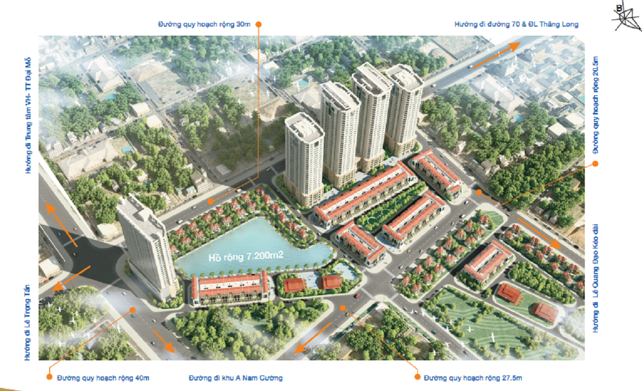 quy mô chung cư flc garden city