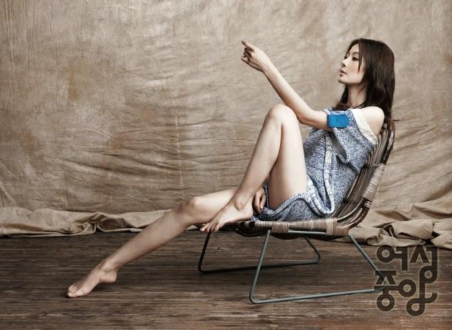 Yoon So Yi - Woman Chosun Magazine February Issue 2014