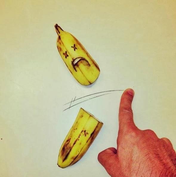 banana imagens criativas - desenhos -